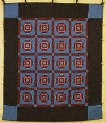 Custom Amish Quilts - Miniature Postage Stamp Dutch Amish Color Certified