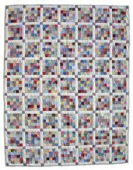 Custom Amish Quilts - Improved Nine Patch Patchwork