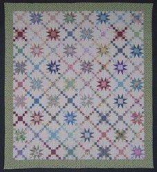 Custom Amish Quilts - Irish Chain Galaxy Star Patchwork