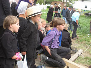 AmishQuilter Group of Amish Boys