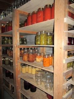 Amish Annie Canning Shelf