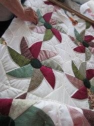 Amish Mary Grace Quilt Sample